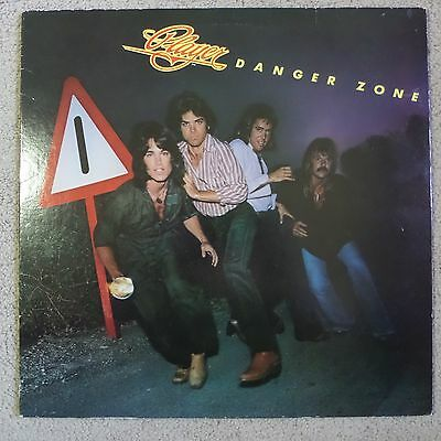 Player - Danger Zone - Very nice E+ LP - Ridge from The Bold and the Beautiful
