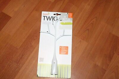 Boon Tree Twig Grass Lawn Drying Rack Accessory White Bottle Feeding Baby Nipple