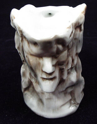 Vintage Unmarked Royal Bayreuth Old Man of the Mountain Figural Creamer Pitcher