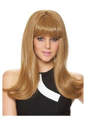 Mod Fashion Honey Blonde Wig, 60's, 70's Style Wig Costume Culture Costume Wig