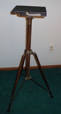 Vintage Heavy Duty Brass Antique Tripod for cameras