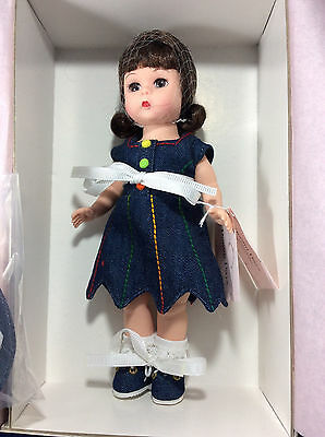 "MADAME ALEXANDER Denim Days 35335 8"" Doll  NIB"
