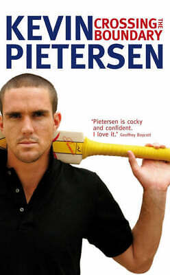 Crossing the boundary by Kevin Pietersen (Hardback) Expertly Refurbished Product