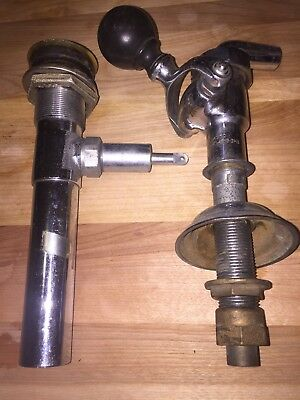 2 piece lot of Vintage Keg Tapping Brass Equipment