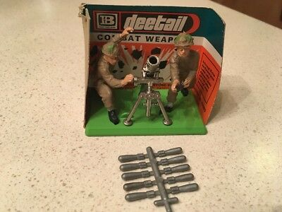 Britains LTD Deetail Combat Weapons #7338 British Mortar Operating With Shells