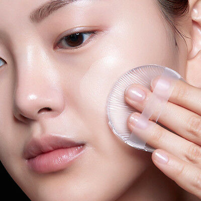 Face Makeup Wet and Dry Makeup Sponge Cushion Powder Puff Dual-Use Silicone Puff