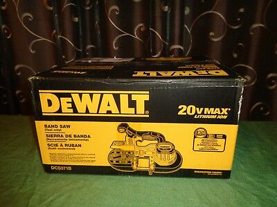 DEWALT DCS371B 20V MAX XR Cordless Band Saw  Pipe Cutter (Tool only)