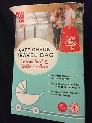 J.L. Childress STANDARD & DOUBLE STROLLER Airline Airplane GATE CHECK Travel Bag