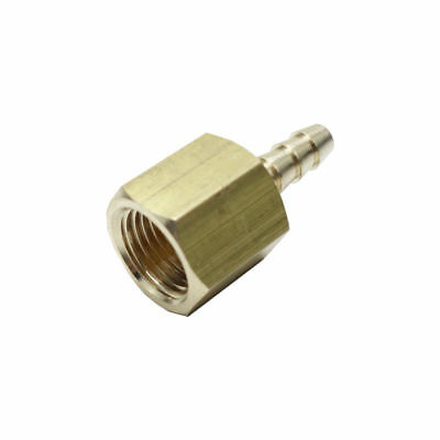 """1//8/"""" NPT to 3//8/"""" Hose ID Brass Male Barb Tail Fitting Fuel Air Gas Water Oil"""