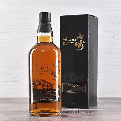 2016 Yamazaki Limited Edition Single Malt Japanese Whisky 700ml