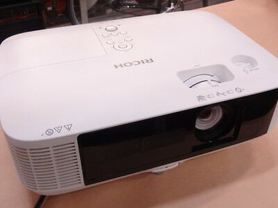 Ricoh Pj X5360N Projector With Hdmi Cable - Excellent Used Condition