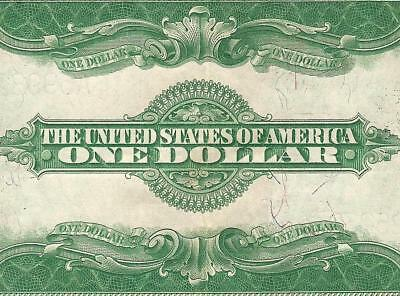 Large 1923 $1 Dollar Bill Silver Certificate Currency Note Big Paper Money F 237