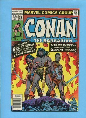 Conan the Barbarian #88 Belit Zula Marvel Comics July 1978 Buscema Chan