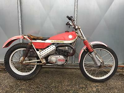 Bultaco 325 Model 92 Rare Twin Shock Trials Twinshock Project £1195 Offers Px?