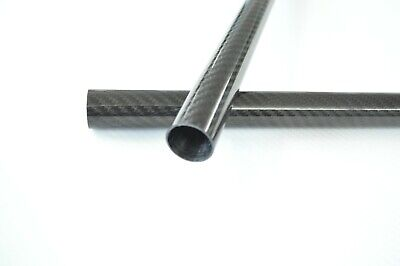 13MM OD X 11MM ID X 1000MM Carbon Fiber Tube 3K/Tubing Suit for RC Plane 13*11 H