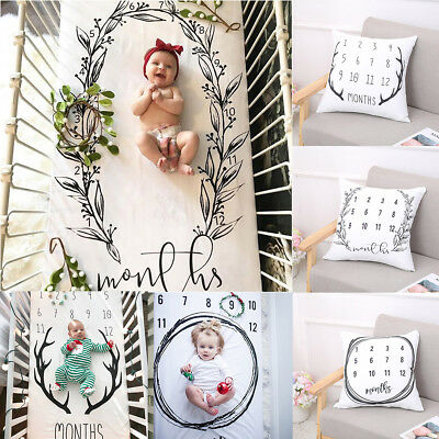 Newborn Baby Girl Boy Blanket Pillow Case Costume Photo Photography Prop Outfits