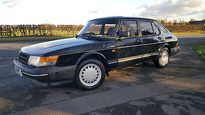 Saab 900 Turbo 1991, black, 5 door, 131K miles, serviced, WARRANTY **SOLD**