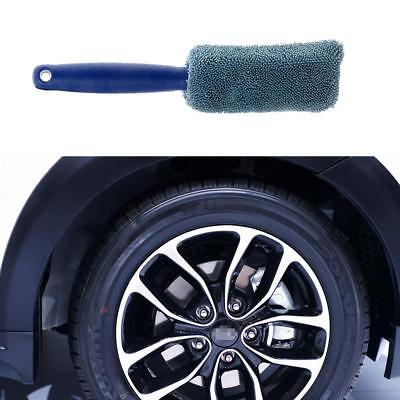 1xCar Brush Dust Remove Microfiber Tire Wheel Cleaning Washing Tool Car Styling