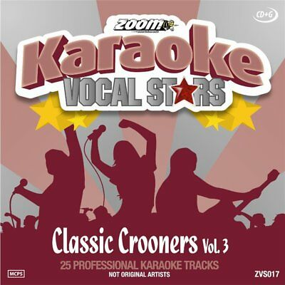 Zoom Karaoke Vocal Stars Series Volume 17 CD+G - Classic Crooners (Vol.3)