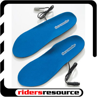 Tourmaster Synergy 2.0 Motorcycle Heated Insoles Black (Choose Size)