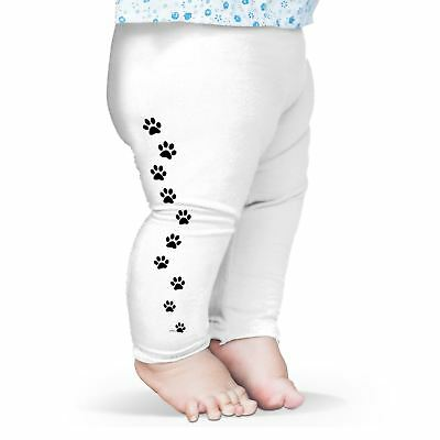 Twisted Envy Paw Prints Baby Funny Leggings Trousers