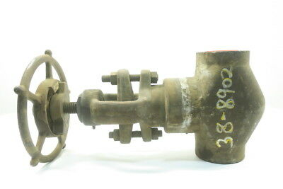 New Henry Vogt Sw-6733 Steel Socket Weld 2In 1700 Globe Valve D592439