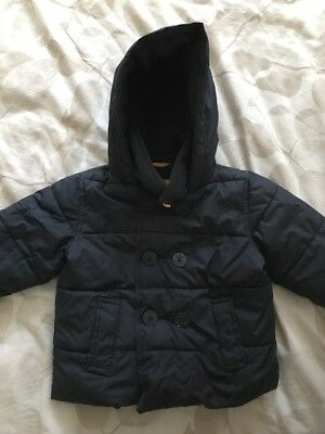 Boys Gap Padded Navy Coat Aged 18-24 Months from Gap
