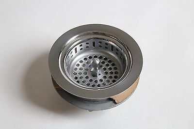 antique vintage sink drain strainer | art deco antique vtg plumbing nickel