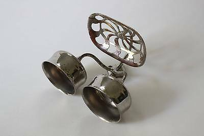 antique bathroom cup soap holder | art brass co vtg bath deco cup soap holder