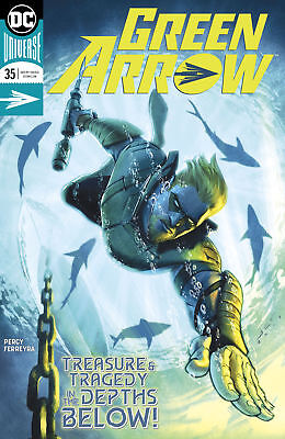 Dc Rebirth Green Arrow #35 First Print