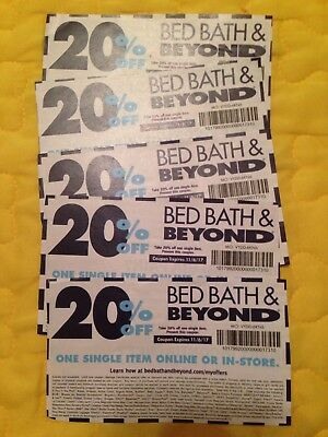 Lot of 5 Bed Bath & Beyond 20% off