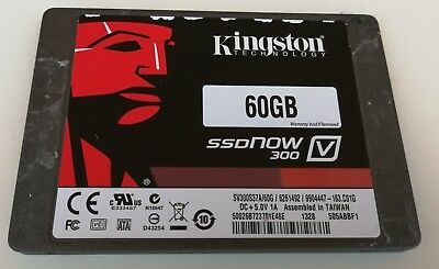 Kingston Ssd 60Gb 2,5'' Notebook Macbook Disco A Stato Solido Sv300S37A/60G