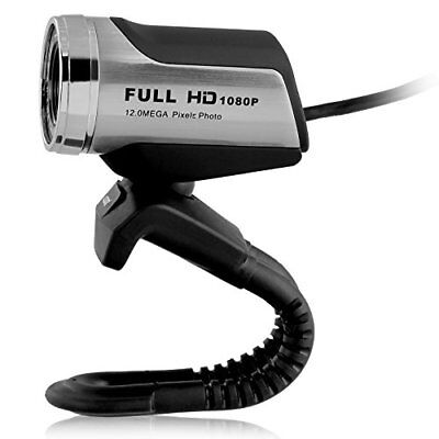 USB 1080P Webcam with HD Microphone, Ausdom AW615 Full HD 1080P / 30 FPS USB Int