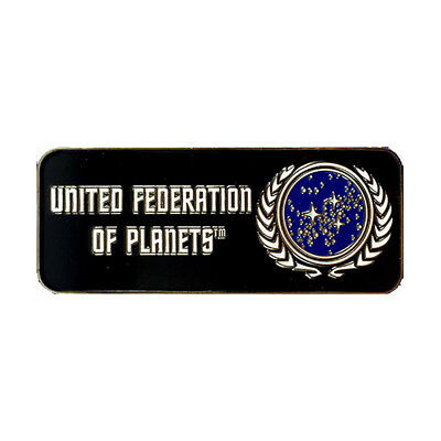 UFP Logo - exklusiver Sammler Collectors Pin Metall - Star Trek - neu
