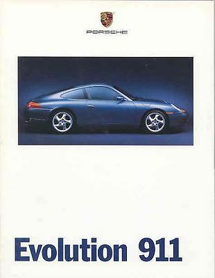 1999 Porsche 911 996 Prestige Brochure mx3982-67P3NM