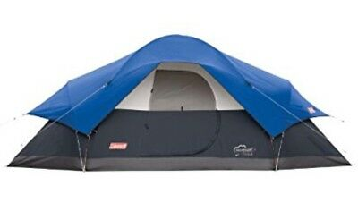 New, Blue Tent 8 Person Outdoor Sleeping Camping Hiking Coleman Red Canyon