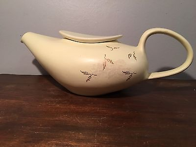 "Russel Wright ""Seeds"" Teapot Knowles Vintage Pottery"