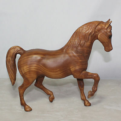 Breyer Family Stallion #907 Wood Grain with Stamp 12 x 9 As Is