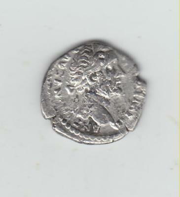 Nice Unresearched Roman Silver Coin, 16-17mm Diameter, Good Detail