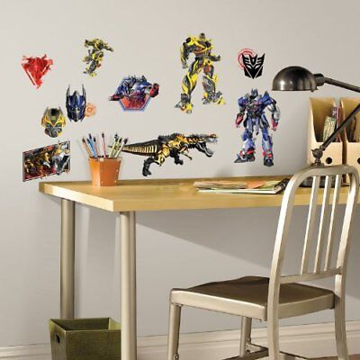 RoomMates Transformers: Age of Extinction Peel and Stick Wall Decals , New, Free