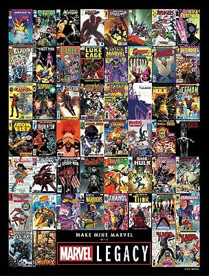 Marvel Legacy 3D Lenticular Variant Master Set!! All 53 Covers!!