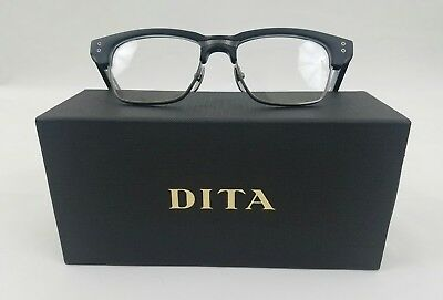 Dita Grand Reserve Two Drx-2061-A-Blk-Slv-52 Matte Black/silver Optical Frame