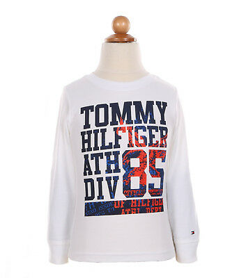 Tommy Hilfiger Toodler's Long Sleeve Crew-Neck Tee T-Shirt - $0 Free Ship