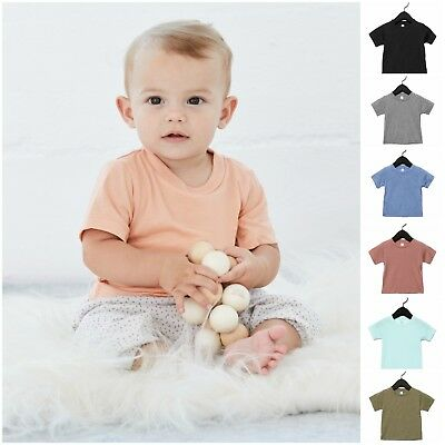 Toddler Baby Kids Boy Girl Short Sleeve T-shirt Soft Triblend Tee Shirt Top