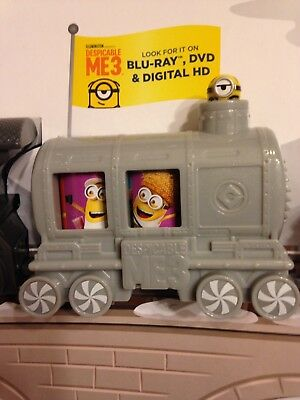 McDonald's holiday train MINION CAR new off the display!!!! ONLY HAVE 2!