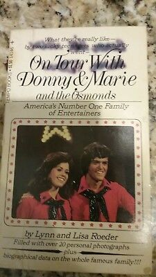 On Tour with Donny and Marie Osmond  paperback book