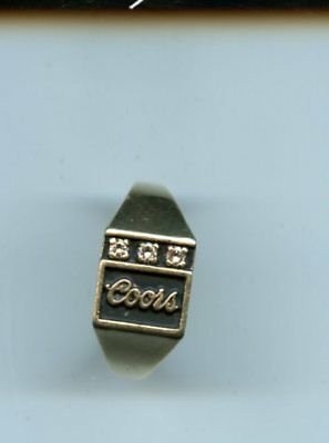 Coors Ring Rare From Golden Colorado , Coors Brewery 2000