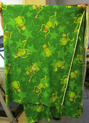 Muppet's Kermit The Frog Fabric #1
