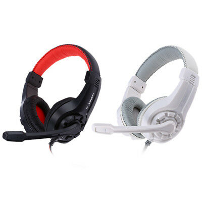 Lupuss G1 Over-ear 3.5mm Surround Stereo PC Gaming Headset & Microphone