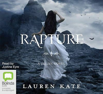 Rapture by Lauren Kate Compact Disc Book Free Shipping!